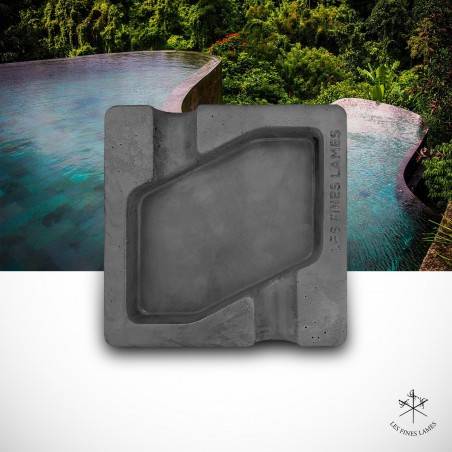 DYAD Ashtray - Concrete - Anthracite