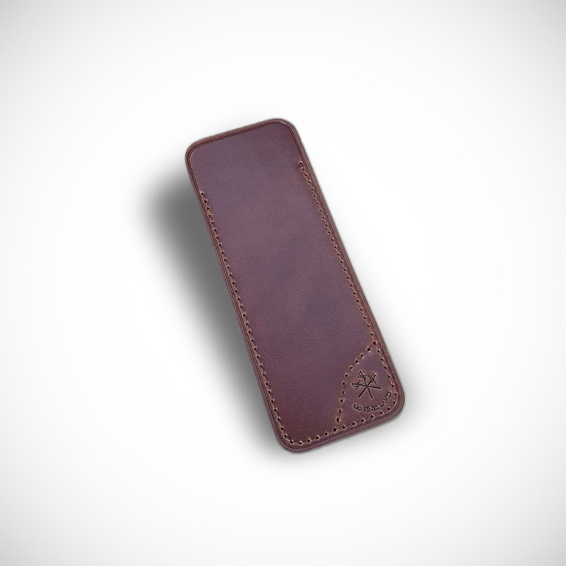 LE PETIT Tan leather sheath