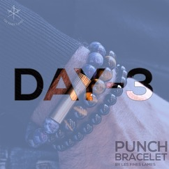 DAY-3 before launch ⏳🔪 It's getting closer and closer! ▫️ PUNCH BRACELET by LES FINES LAMES - from 42€ / $49 ➡️ Available September 24 on Indiegogo. Subscribe to the launch list and get notified: https://lesfineslames.com/punchbracelet/ (link in bio)