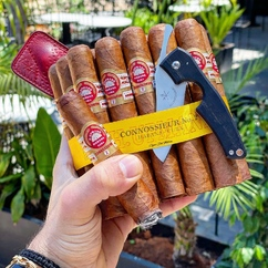 Here's some #MondayMotivation for all the BOTLs and SOTLs out there 💨🔥😎 ▫ Cigar : H.Upmann - Connossieur No.2 🍂 Photo credit : @cigardelpatron 📷