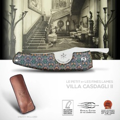 You were expecting it, @lesfineslames and @casdaglicigars are pleased to announce the reissue of their first collaboration: The PETIT Villa Casdagli Limited Edition II 💨😍  Sporting a few aesthetics changes, this reedition will certainly pair your smokes with the Elegance, Luxury and Tradition that are the foundation of both @casdaglicigars and @lesfineslames.  ➡ Get yours now from www.lesfineslames.com or www.casdaglicigars.com