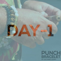 DAY-1 before launch ⏳🔪 Are you subscribed to the launch list? There will be early-bird perks not to miss! ☝🏻🤓 ▫️ PUNCH BRACELET by LES FINES LAMES - from 42€ / $49 ➡️ Available September 24 on Indiegogo. Subscribe to the launch list and get notified: https://lesfineslames.com/punchbracelet/ (link in bio) ▫
