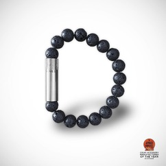 Meet the lineup 5/8 🔎  LAVA, Filled with the energy of the Earth 💎 Lava is a stone made from cooled magma. Carrier of joy and happiness, used to soothe, it is a gemstone known to balance your mind. ▫ PUNCH BRACELET® by LES FINES LAMES from 42€ / 49$ ➡️ Available September the 24th on Indiegogo - subscribe to the launch list and get notified: (link in bio)