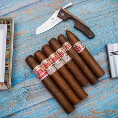 If you could choose a Hoyo to smoke right now, which one would it be? 🍂🤔 👇 Answer in the comments! ▫ @cigarfumador To smoke is human; to smoke cigars is divine. Satisfies all the senses.Some people meditate but I smoke CIGARS 💨  HOYO DE MONTERREY: very rich and bold in taste, one of the best Cuban brands to my liking. 🍂